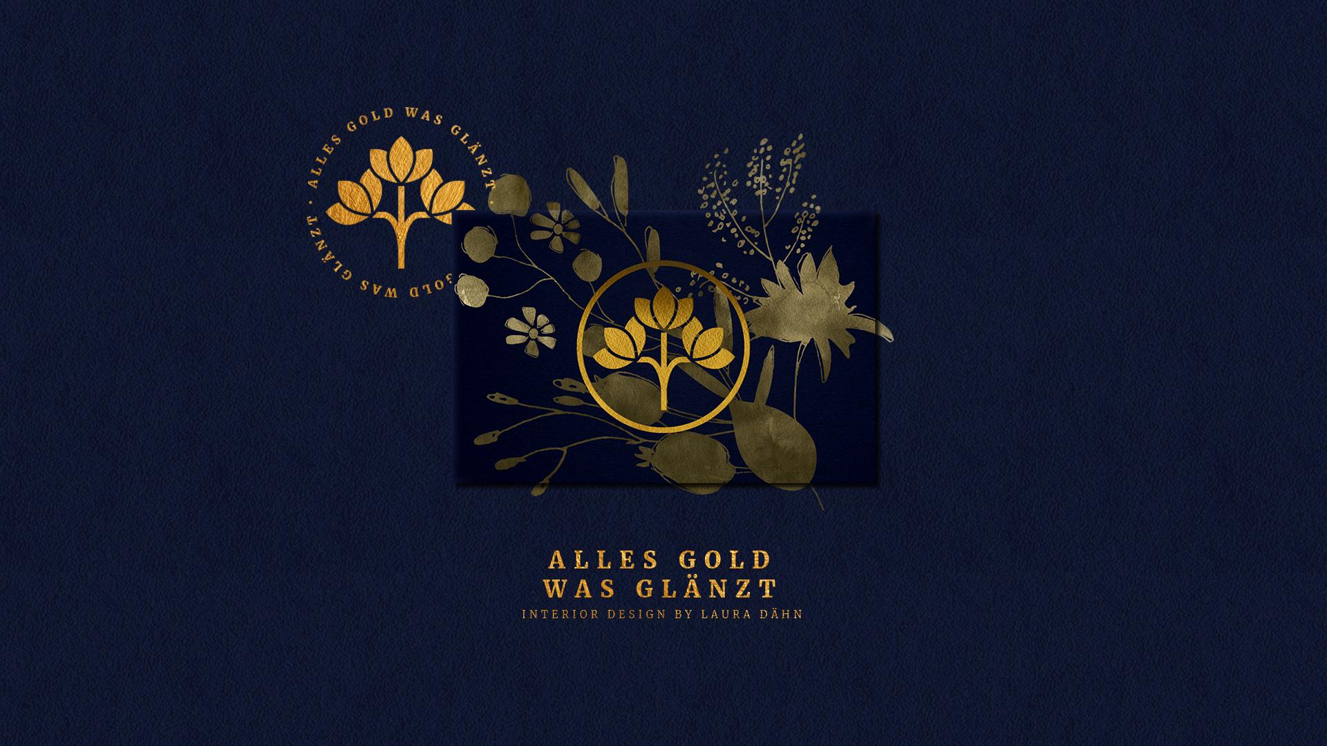 Alles Gold Was Glänzt Branding